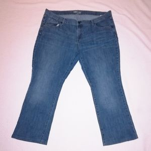 Old Navy Plus Size The Flirt Jeans ✂️ Altered